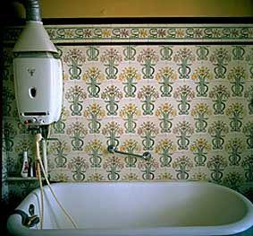 F r die wandfl che kamen im jugendstil normalerweise - Wandplatten bad ...